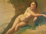 "Эдгар Дега (Edgar Degas), ""Этюд обнаженной"""