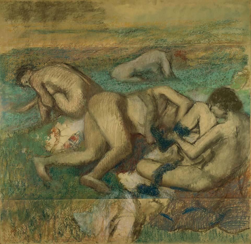 """Эдгар Дега (Edgar Degas), """"Купальщица"""""""