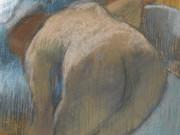 "Эдгар Дега (Edgar Degas), ""Taking a Bath"""