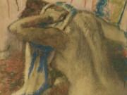 """Эдгар Дега (Edgar Degas), """"Woman Drying Her Hair"""""""