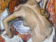 "Эдгар Дега (Edgar Degas), ""Woman Sponging Her Back"""