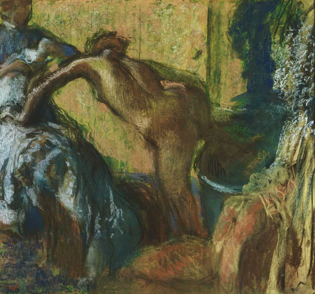 "Эдгар Дега (Edgar Degas), ""After the Bath"""