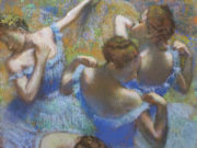 """Эдгар Дега (Edgar Degas), """"Голубые танцовщицы"""""""