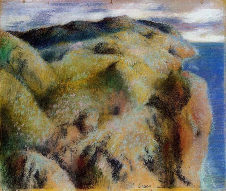 """Эдгар Дега (Edgar Degas), """"Крутой берег"""""""