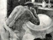 """Эдгар Дега (Edgar Degas), """"Таз"""" (Drawings)"""