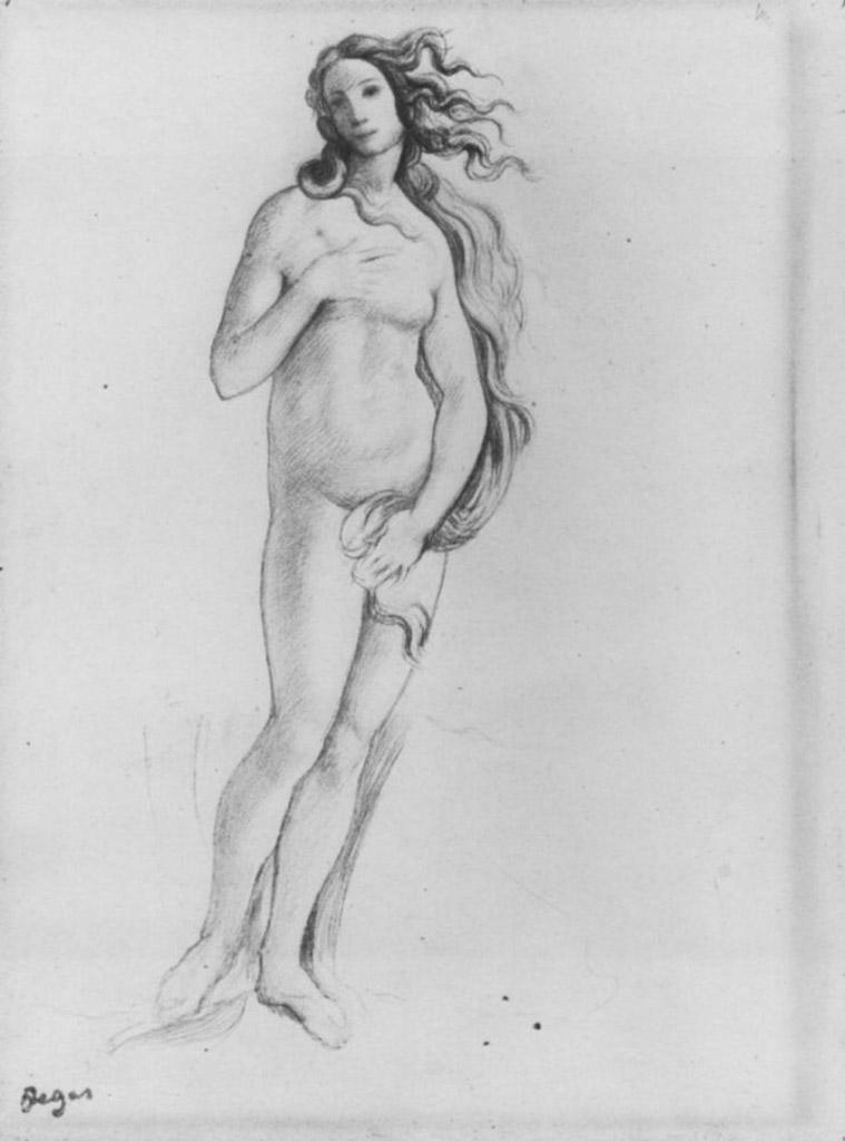 эротический рисунок женской фигуры - 9