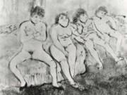 """Эдгар Дега (Edgar Degas), """"В ожидании клиентов"""" (Drawings)"""