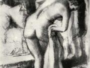"""Эдгар Дега (Edgar Degas), """"После ванны (4)"""" (Drawings)"""
