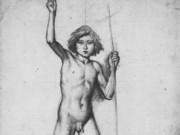 """Эдгар Дега (Edgar Degas), """"Иоанн Креститель (эскиз)"""" (Drawings)"""
