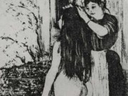 """Эдгар Дега (Edgar Degas), """"Три мотива"""" (Drawings)"""