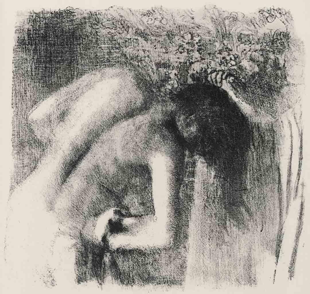 """Эдгар Дега (Edgar Degas), """"После ванны (5)"""" (Drawings)"""