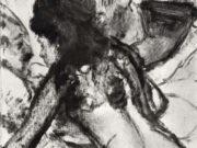 """Эдгар Дега (Edgar Degas), """"Разговор"""" (Drawings)"""