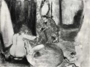 """Эдгар Дега (Edgar Degas), """"Ушат для купанья"""" (Drawings)"""