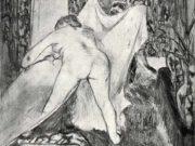 """Эдгар Дега (Edgar Degas), """"После ванны (6)"""" (Drawings)"""