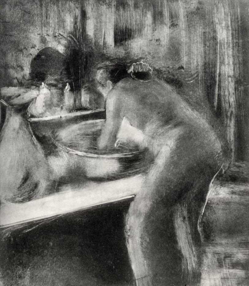 "Эдгар Дега (Edgar Degas), ""Туалет"" (Drawings)"