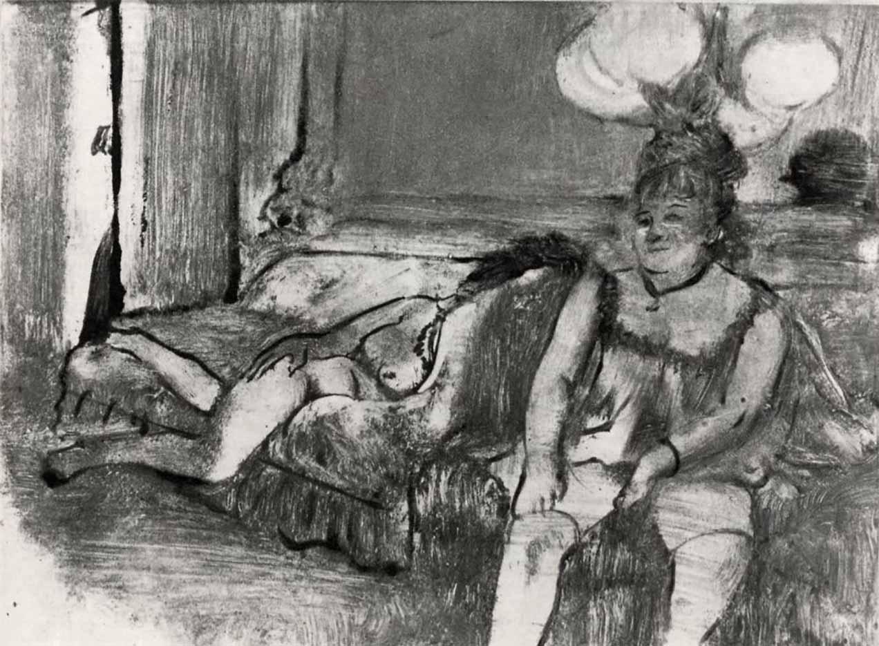 """Эдгар Дега (Edgar Degas), """"Отдых"""" (Drawings)"""