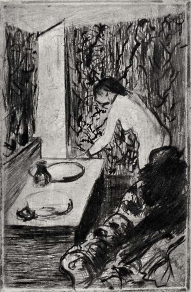 """Эдгар Дега (Edgar Degas), """"Маленькая уборная"""" (Drawings)"""
