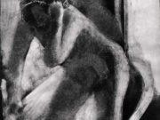 "Эдгар Дега (Edgar Degas), ""Женщина за туалетом"" (Drawings)"