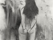 "Эдгар Дега (Edgar Degas), ""Обнаженная женщина, фигура со спины"" (Drawings)"