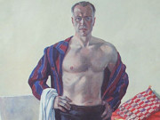 "Александр Александрович Дейнека (Aleksander Deyneka), ""Self portrait"""