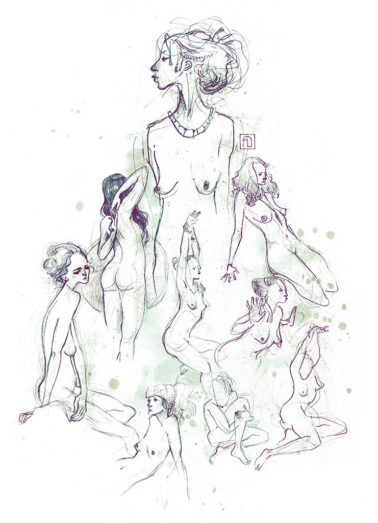 "Анна Диттманн (Anna Dittmann) ""New nudes"""