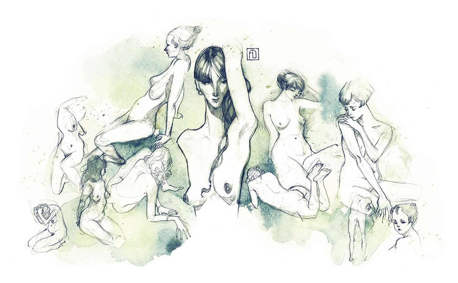"Анна Диттманн (Anna Dittmann) ""A lady compilation this time"""