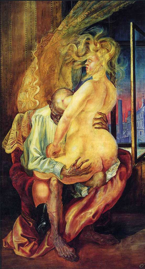 "Отто Дикс (Otto Dix) ""Uneven couple"""