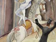 """Отто Дикс (Otto Dix) """"Zirkusszene (Reitakt) / Circus Scene (Riding Scene)"""""""