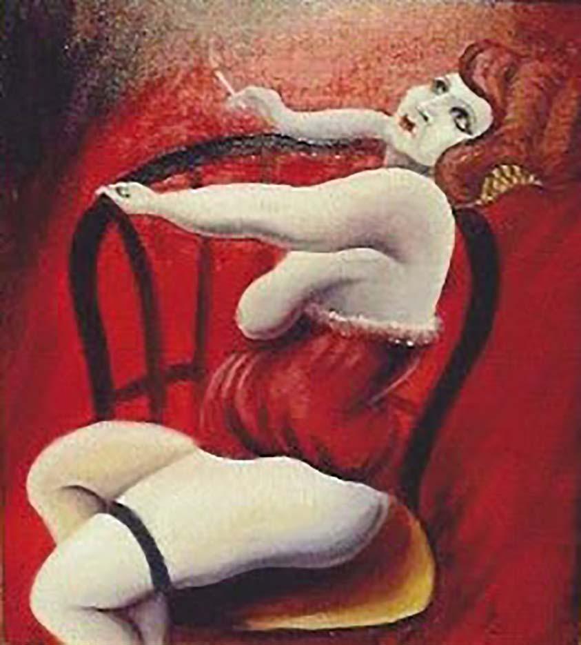"Отто Дикс (Otto Dix) ""Untitled - 50"""