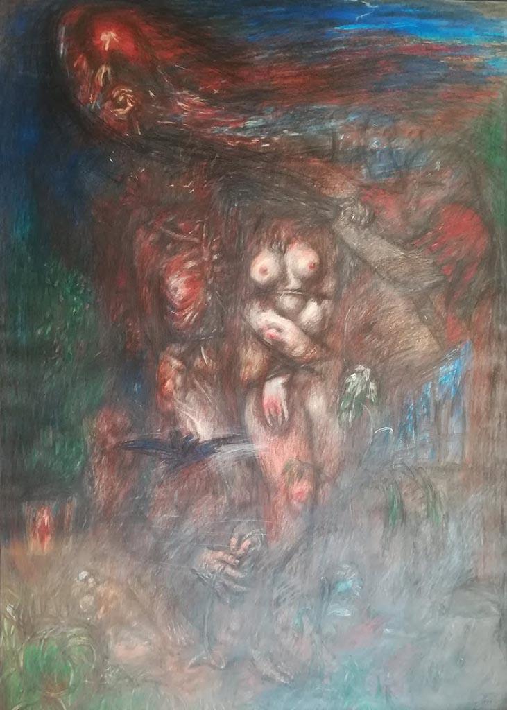 "Отто Дикс (Otto Dix) ""Untitled - 53"""