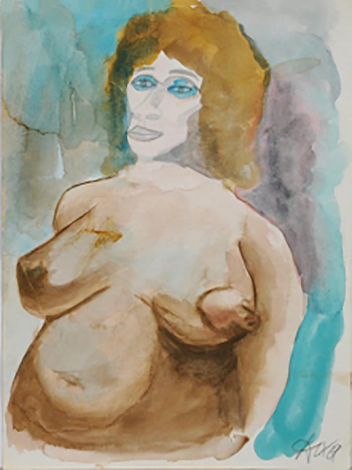 "Отто Дикс (Otto Dix) ""Untitled - 54"""