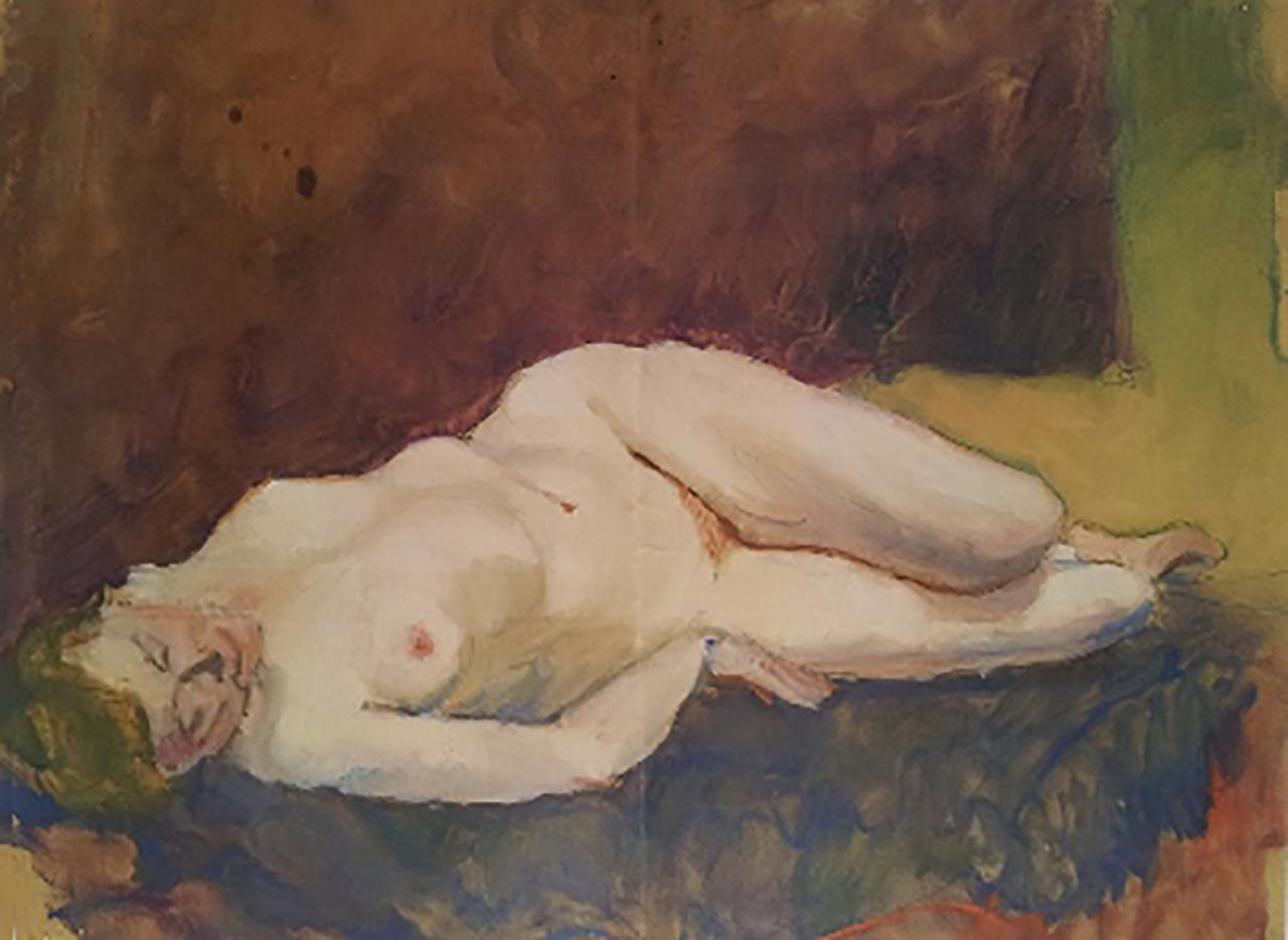 "Отто Дикс (Otto Dix) ""Untitled - 55"""