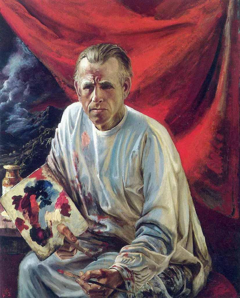 """Отто Дикс (Otto Dix) """"Self-Portrait"""""""