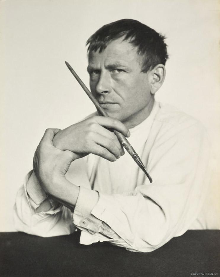 "Отто Дикс (Otto Dix) ""Photo 1929"""