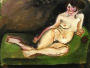 "Отто Дикс (Otto Dix) ""Reclining Nude"""