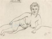 """Отто Дикс (Otto Dix) Drawing """"Minna I"""""""