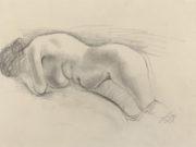 "Отто Дикс (Otto Dix) Drawing ""Hilde"""