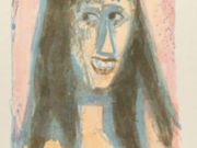 """Отто Дикс (Otto Dix) Drawing """"Laughing girl"""""""