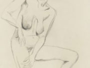 "Отто Дикс (Otto Dix) Drawing ""Erna"""