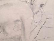 "Отто Дикс (Otto Dix) Drawing ""Untitled - 46"""