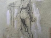 "Отто Дикс (Otto Dix) Drawing ""Untitled - 50"""