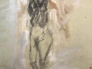"Отто Дикс (Otto Dix) Drawing ""Untitled - 51"""