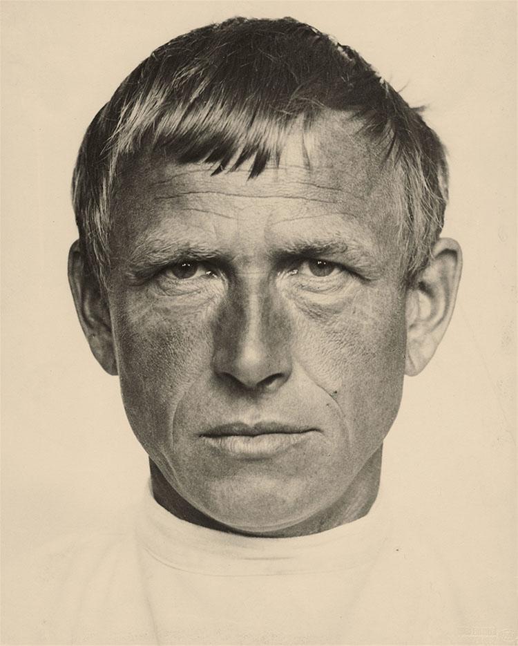 "Отто Дикс (Otto Dix) Drawing ""Otto Dix by Hugo Erfurth"""