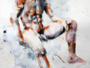 "Томас Дональдсон (Thomas Donaldson) ""Seated male figure 8-1-18"""