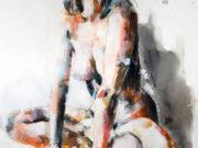 "Томас Дональдсон (Thomas Donaldson) ""Figure study 8-2-18"""