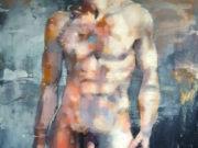 "Томас Дональдсон (Thomas Donaldson) ""Standing male figure 10-28-18"""