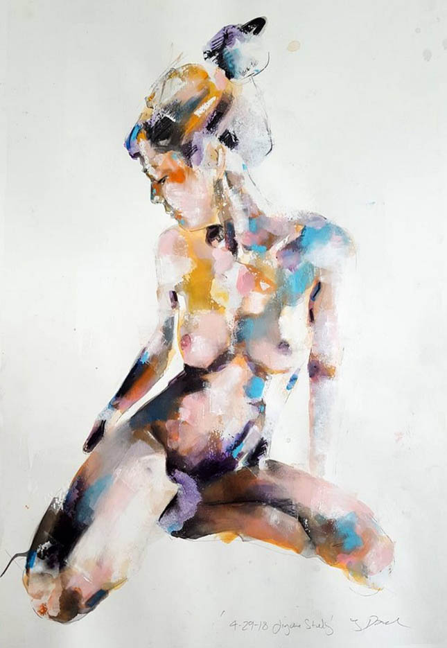 "Томас Дональдсон (Thomas Donaldson) ""Figure study 4-29-18"""