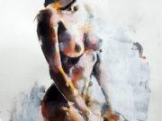 "Томас Дональдсон (Thomas Donaldson) ""Figure study 3-15-18"""