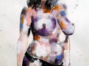 "Томас Дональдсон (Thomas Donaldson) ""Figure study 10-6-16"""