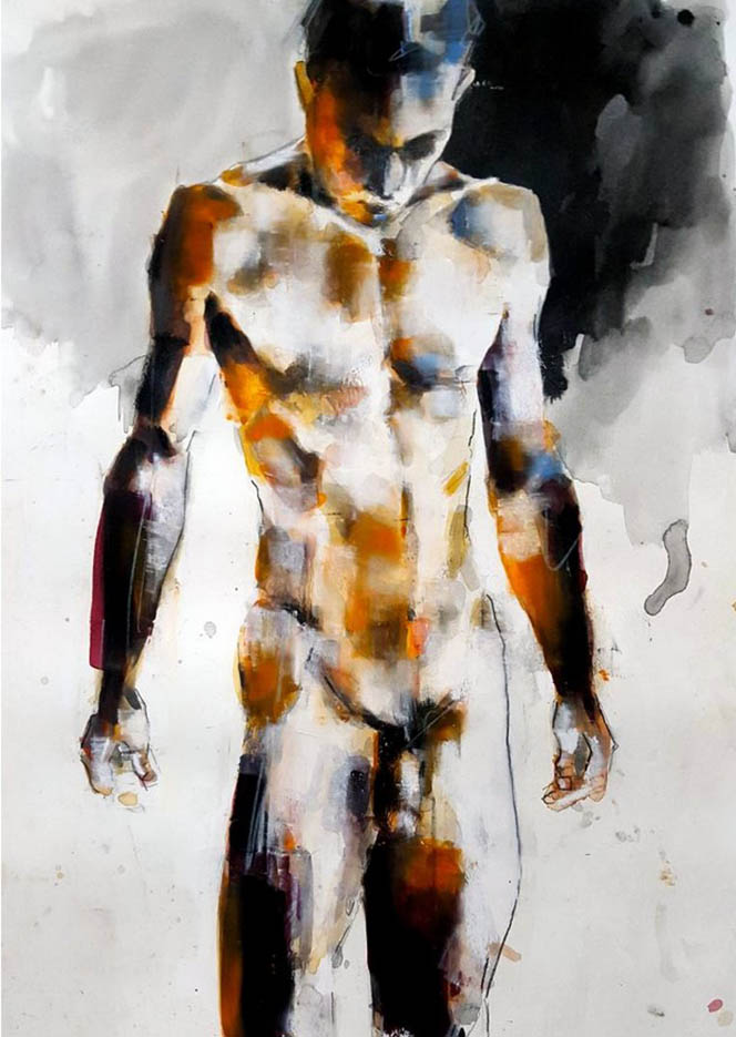 "Томас Дональдсон (Thomas Donaldson) ""Standing figure 4-19-16"""